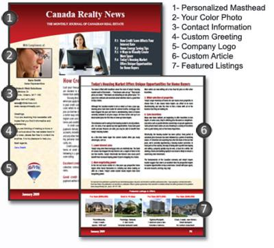 News  Realty  Real Estate Marketing Solutions Email Newsletter
